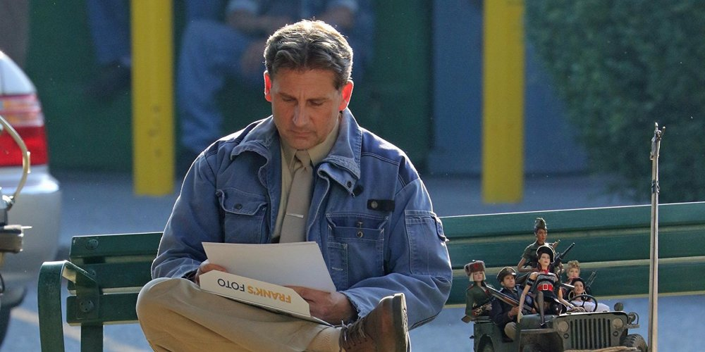 Steve Carell as Mark Hogancamp/Cap'n Hogie in Welcome to Marwen