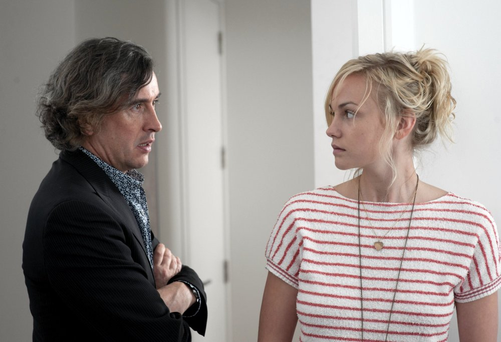 Changing partners: Steve Coogan with Vanderham