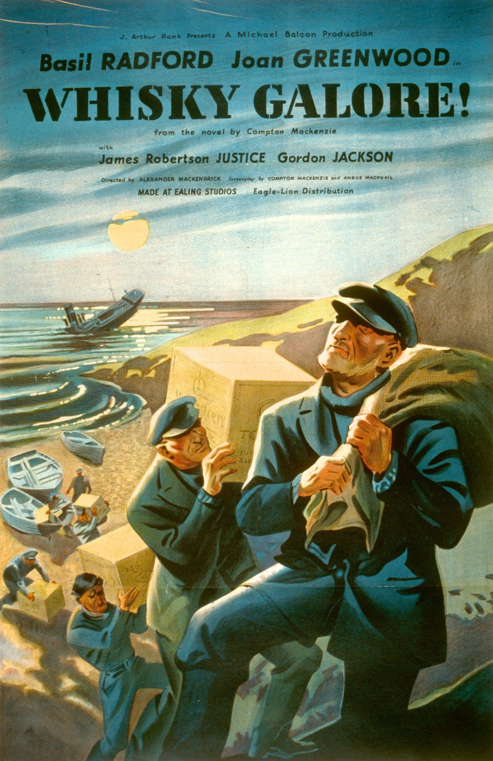 Whisky Galore (1949) poster