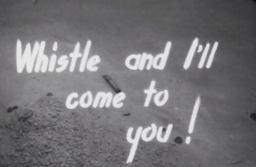 The title screen of the 1956 version