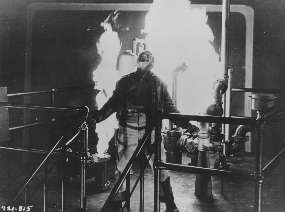 'Made it, Ma! Top of the world!'. James Cagney in Raoul Walsh's White Heat (1949)