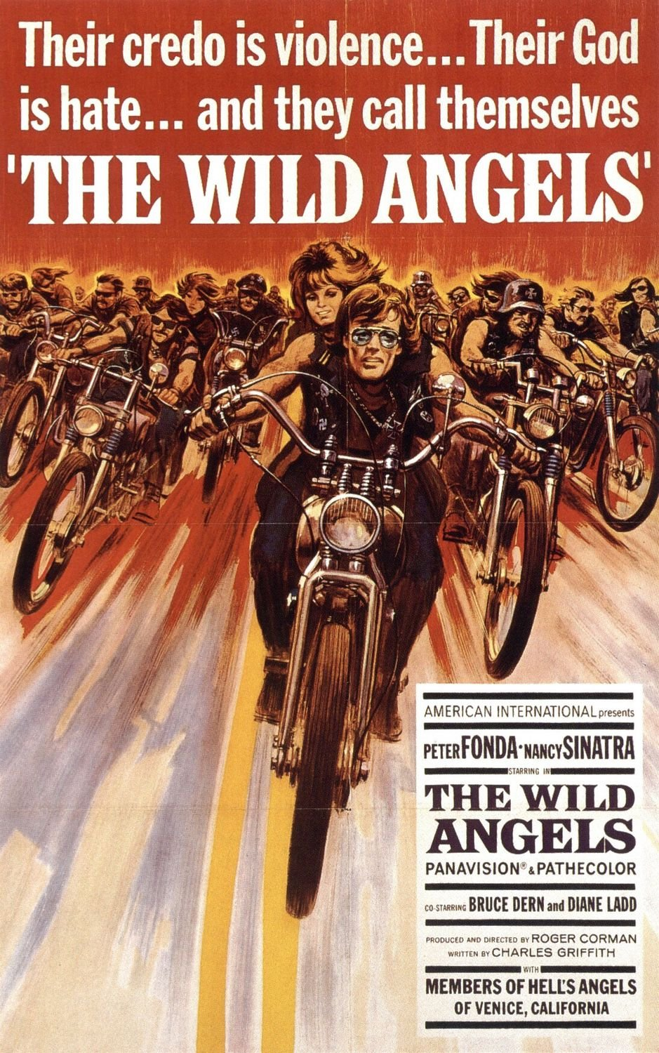 The Wild Angels (1966) poster
