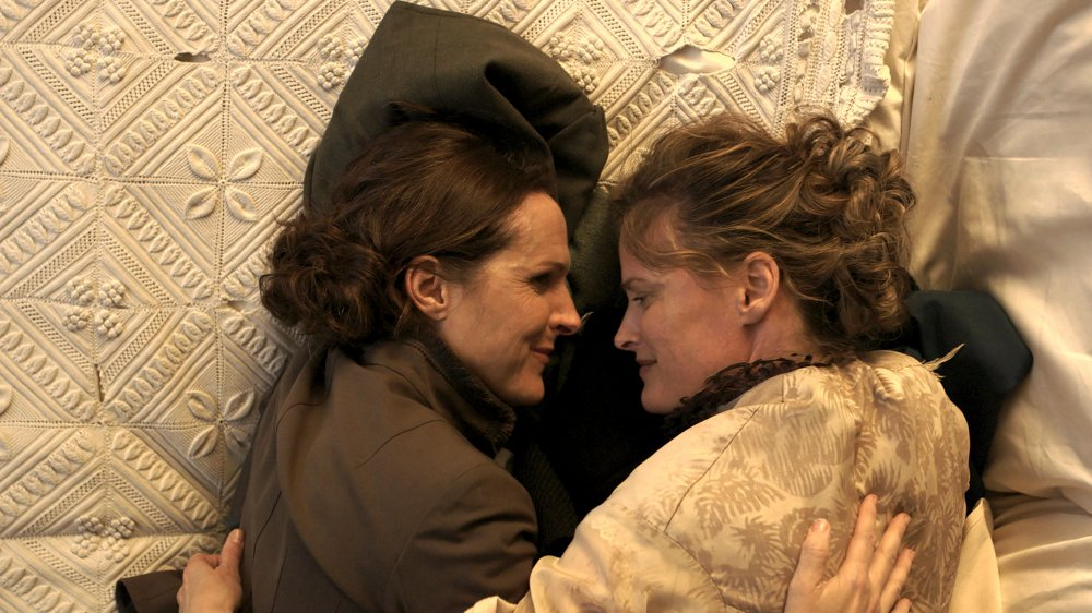 Molly Shannon and Amy Seimetz in Wild Nights with Emily