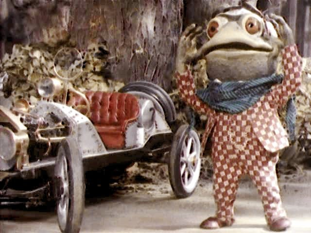 Purves's Mr Toad in The Wind in the Willows (1983)