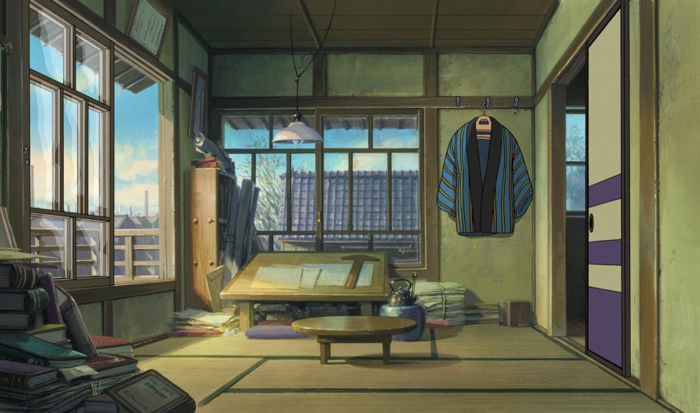 Jiro's conjugal bedroom