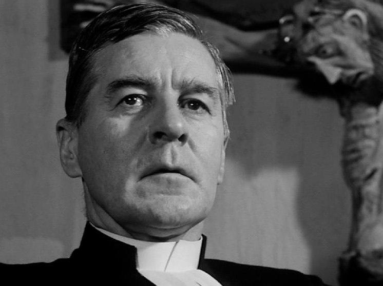 Gunnar Björnstrand in Winter Light (1963)