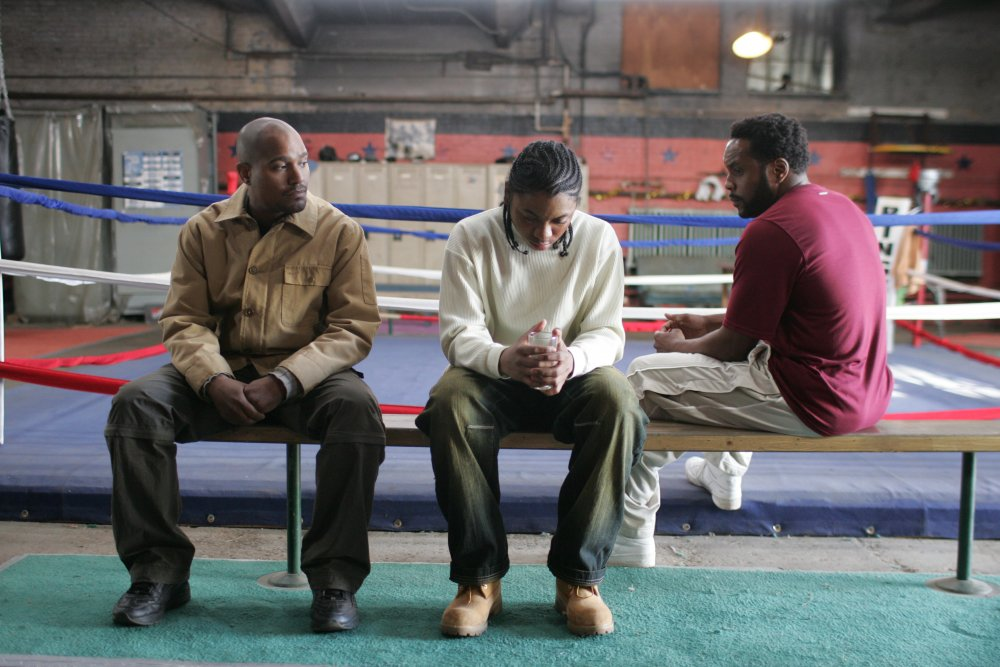Street cop Carver works with reformed dealer Dennis (Chad L. Coleman) to try to help kids like Namond find a way out