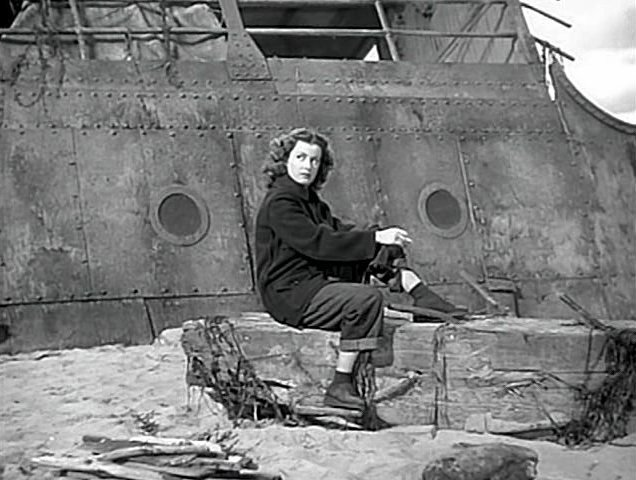 Joan Bennett's undomesticated Peggy in The Woman on the Beach (1947)