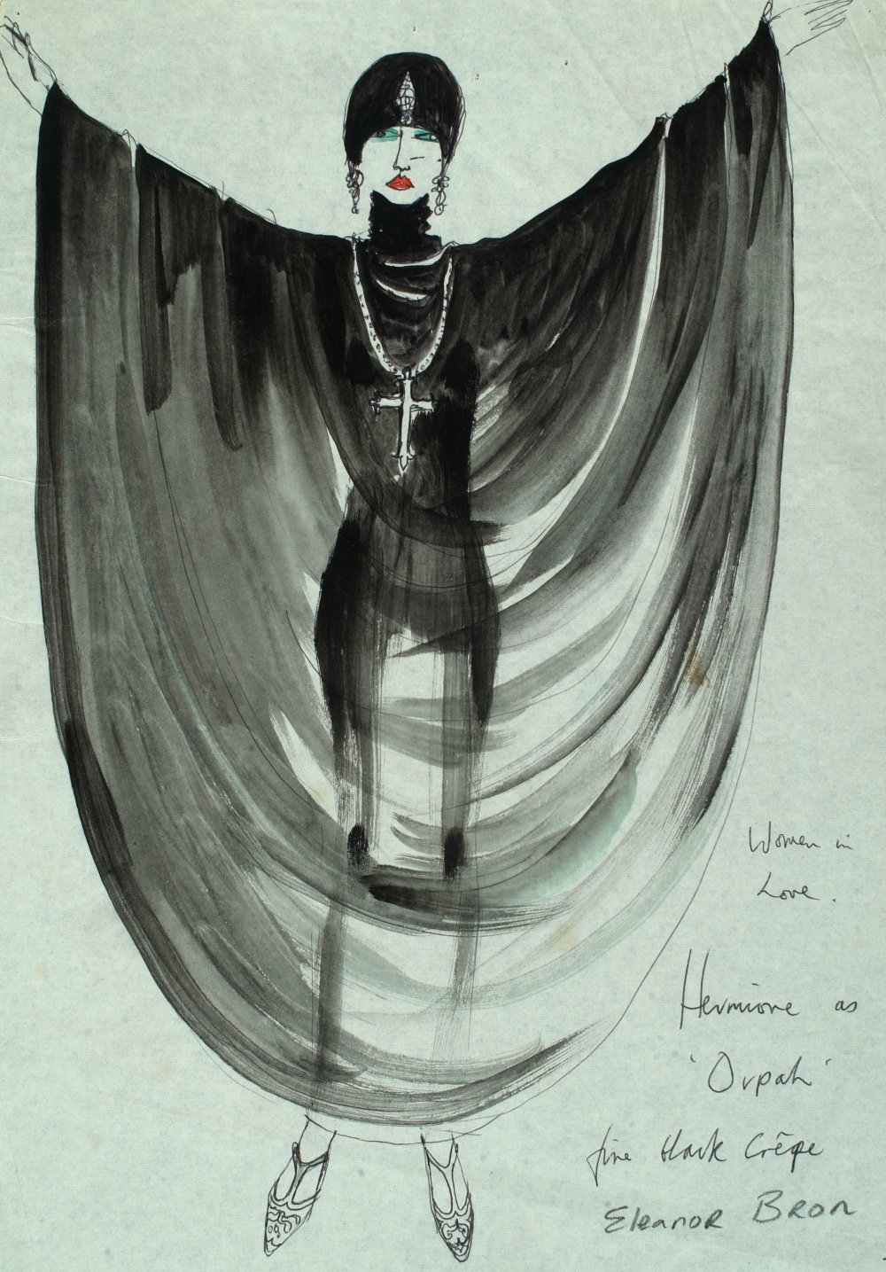Costume design for Women in Love (1969) by Shirley Russell