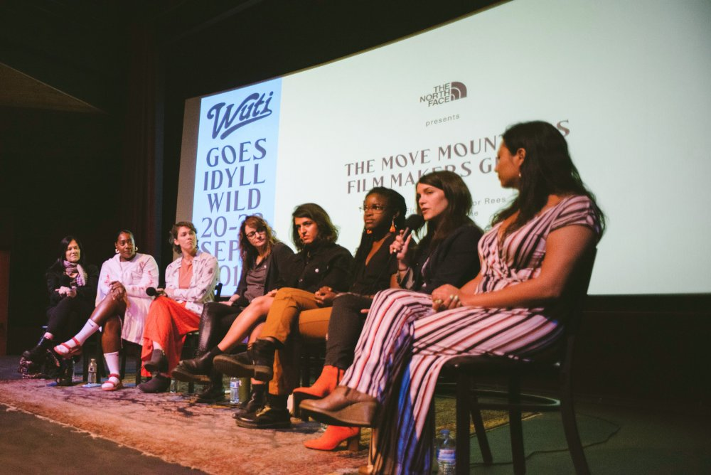 The participants of WUTI goes IdyllWILD's Move Mountains panel