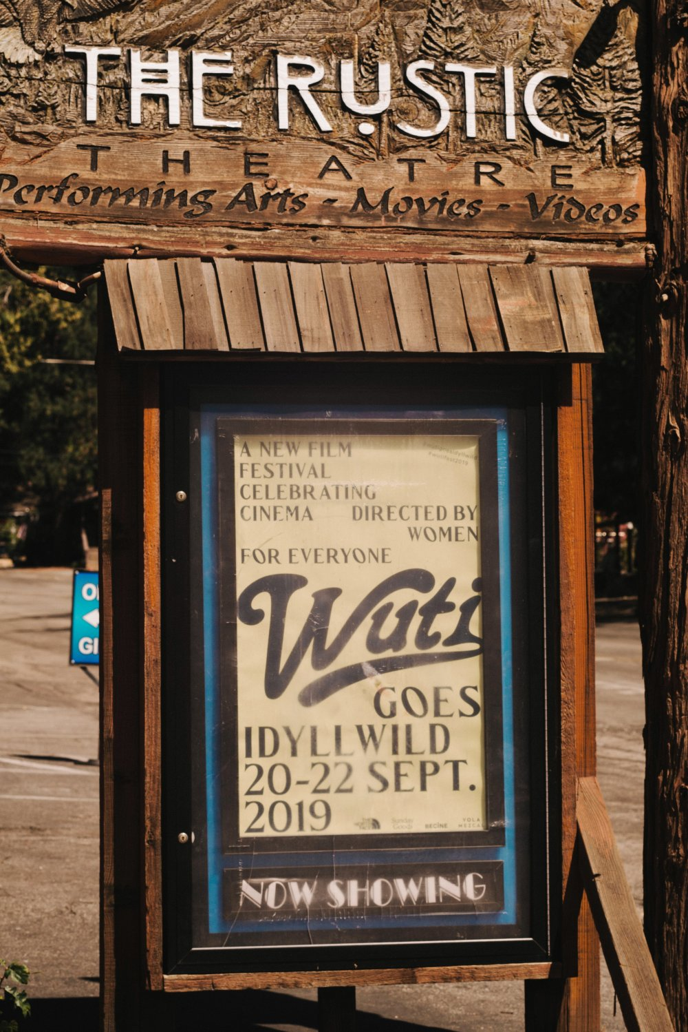 Idyllwild, California's Rustic Theatre plays host to the Women Under the Influence festival