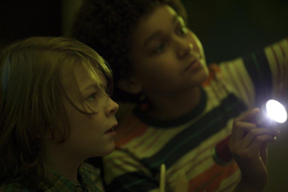 Oakes Fegley and Jaden Michael in Wonderstruck