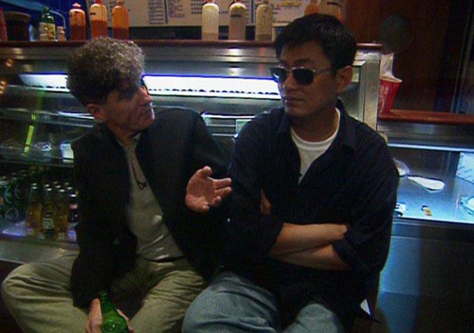 Christopher Doyle and Wong Kar-Wai