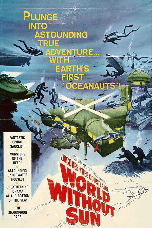 World without Sun (1964) poster