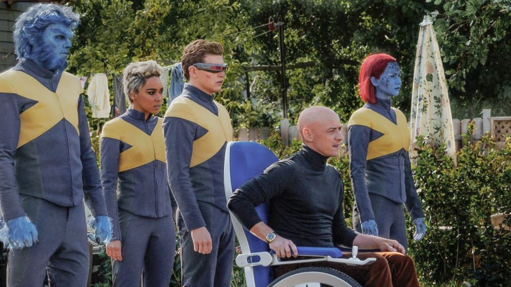 James McAvoy as Professor Charles Xavier