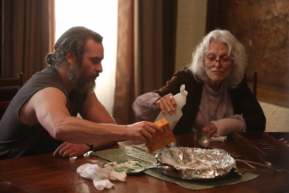 Phoenix with Judith Roberts as Joe's mother