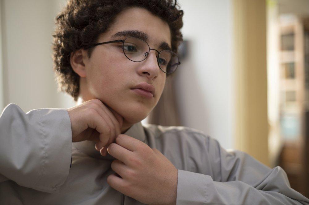 Idir Ben Addi as the titular Young Ahmed (Le jeune Ahmed)