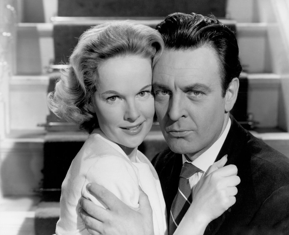 Donald Sinden with Peggy Cummins in Your Money or Your Wife (1959)