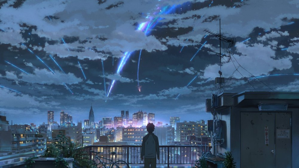 Your Name Kimi No Na Wa 2016