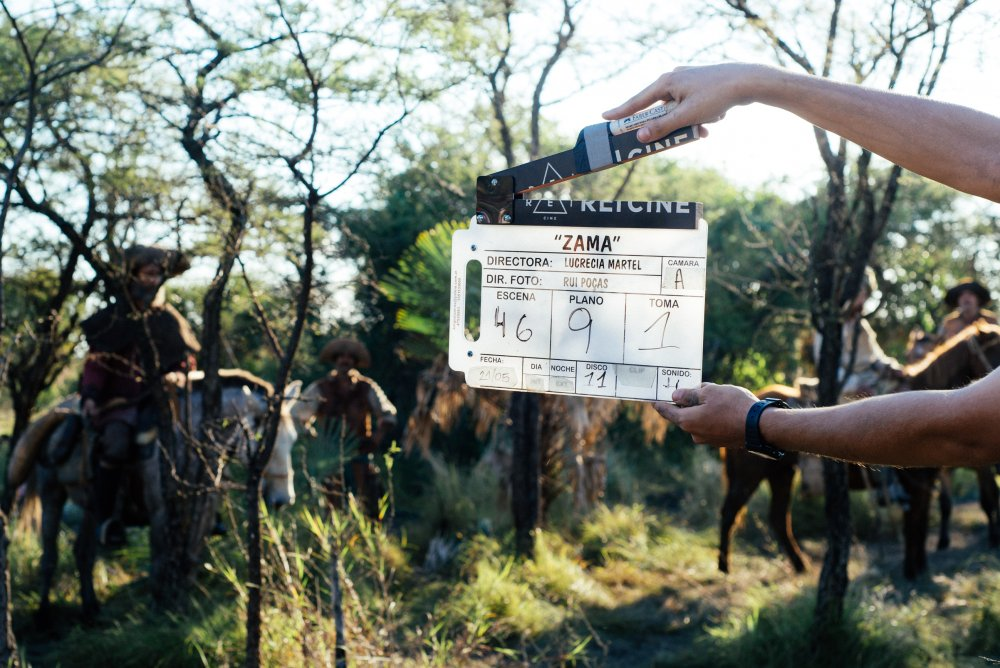 On the set of Zama (Lucrecia Martel, 2017)