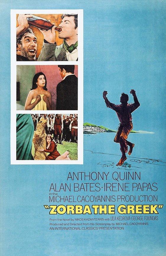 Zorba the Greek (1964) poster