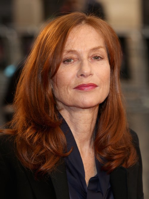 Actor Isabelle Huppert attends the Abuse Of Weakness screening during the 57th BFI London Film Festival at the Odeon West End.
