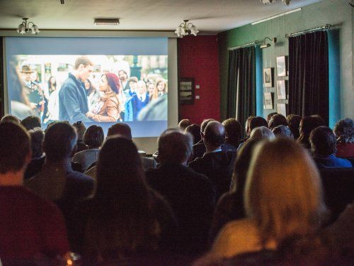Sunshine on Leith at The Glenesk Retreat. Screening by NEAT Flicks.