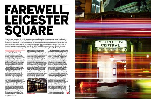 """Farewell, Leicester Square: a special report in the August 2015 issue of Sight <span class=""""amp"""">&</span> Sound"""