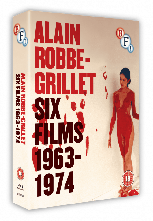 Five votes for the BFI's Alain-Robbe Grillet box-set. See our July 2014 issue, pages 94-95, for an extended review.