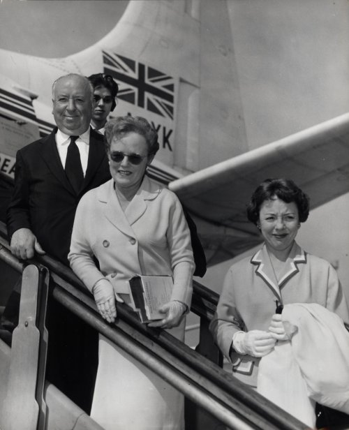 Alma Reville with Alfred Hitchcock and their daughter Patricia
