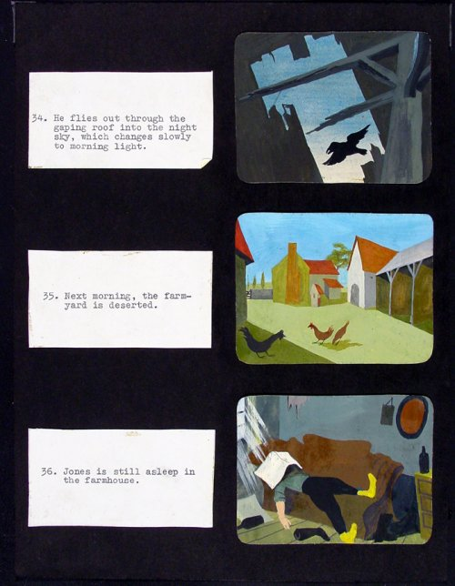 Preparatory artwork for Animal Farm (1954)