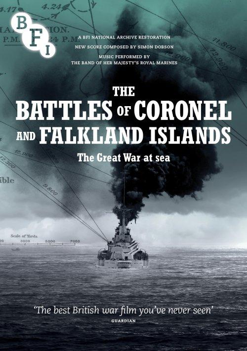 The Battles of Coronel and Falkland Islands DVD packshot