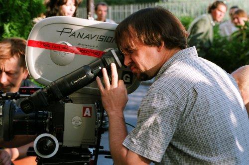 Richard Linklater filming Before Sunset (2004)