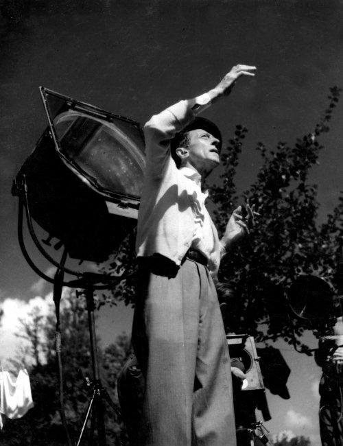 Jean Cocteau directing La Belle et la Bête (1946)