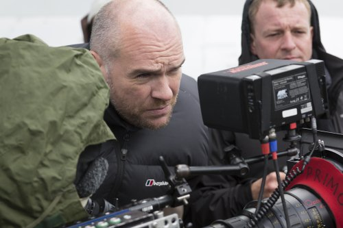 John Michael McDonagh filming Calvary (2014)