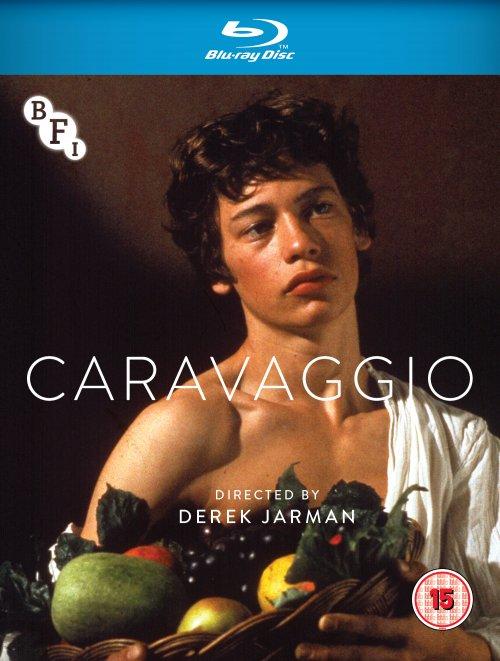 Caravaggio Blu-ray packshot