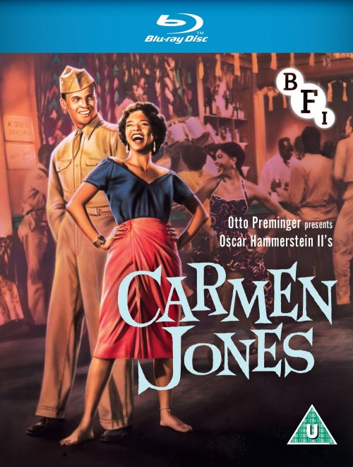 Carmen Jones Blu-ray packshot
