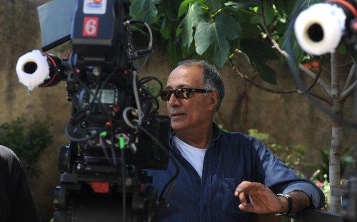 Abbas Kiarostami filming Certified Copy (2010)