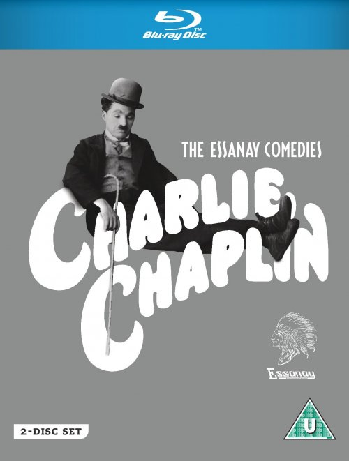 Chaplin's Essanay Comedies Blu-ray packshot (Draft artwork only)