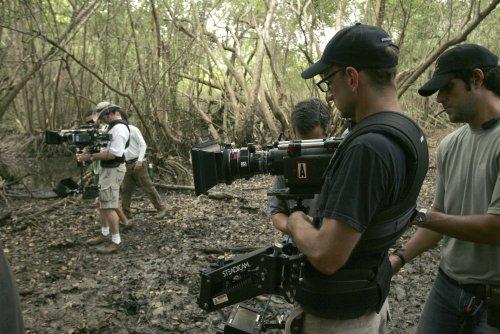 Steven Soderbergh filming Che (2008)