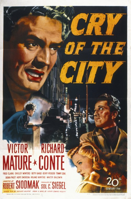 Cry of the City (1948) poster