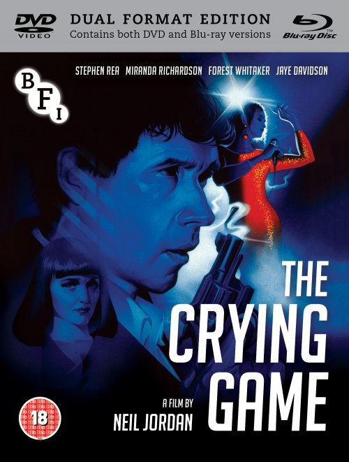 The Crying Game dual format edition packshot