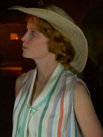 Mia Farrow in Death on the Nile