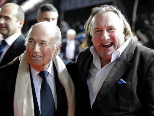 With FIFA's Sepp Blatter