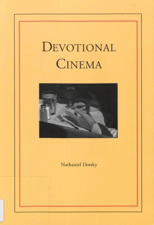 Devotional Cinema book cover