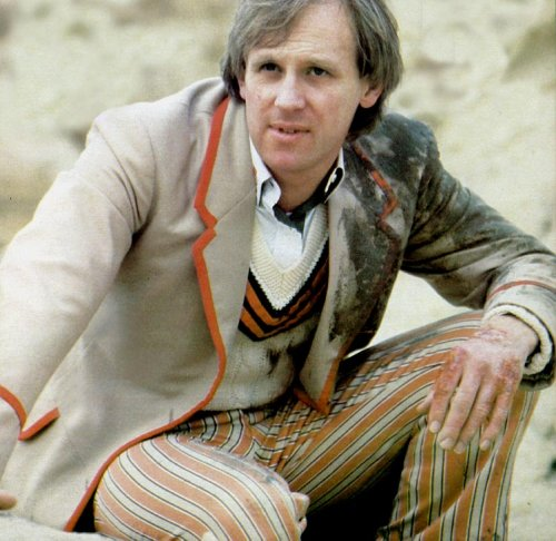 Peter Davison as Doctor Who