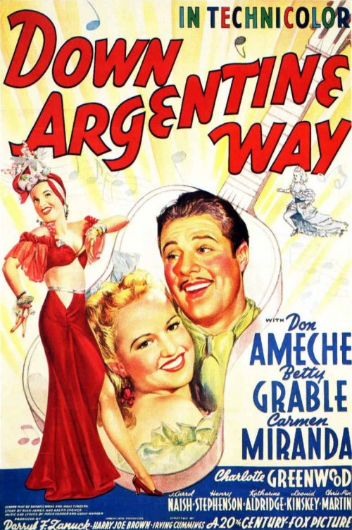Poster for Down Argentine Way (1940)