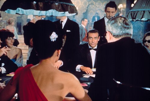 Dr. No (1962). Ian Fleming approached Hitchcock to direct the first Bond film