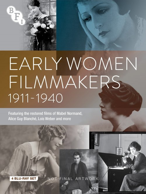 Early Women Filmmakers 1911-1940 Blu-ray packshot