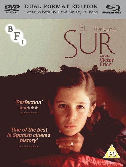 El Sur DVD and Blu-ray packshot (Draft artwork only)